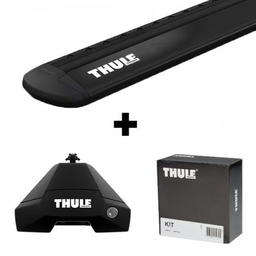 Stogo bagažinės skersinių komplektas Thule 1xxx juodi
