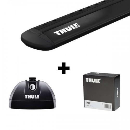 Stogo bagažinės skersinių komplektas Thule EVO 3xxx Black