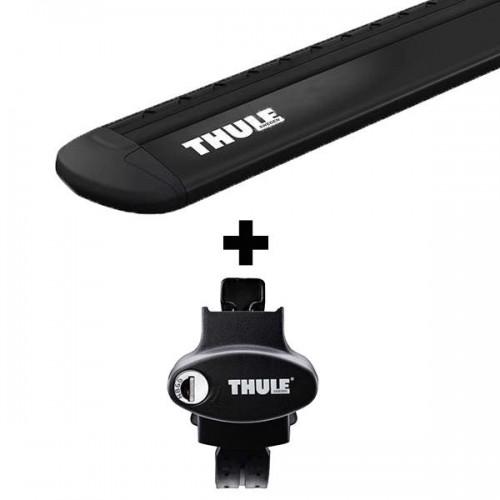 Stogo bagažinės skersinių komplektas Thule EVO 775 Black