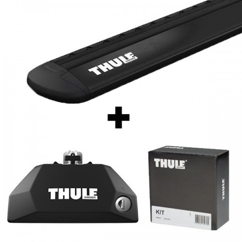 Stogo bagažinės skersinių komplektas Thule EVO 6xxx BLACK